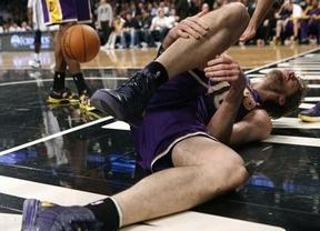 La lesión de Gasol sigue pasando factura a los Lakers: los Sixers les infringen una nueva derrota (104-111)