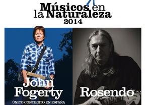 Rosendo se suma a John Fogerty en la edición más rockera del 'Músicos en la naturaleza'