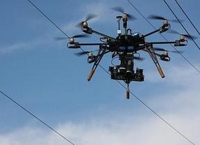 Dos 'drones' irrumpen en los encierros de Pamplona