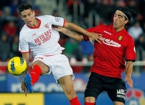 Veinte minutos de arte le bastan al Sevilla ante el Mallorca (3-1)