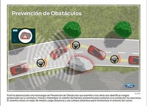 Ford desarrolla un coche que esquiva automáticamente vehículos y peatones