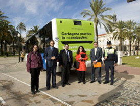 Por una conducción más verde en Cartagena