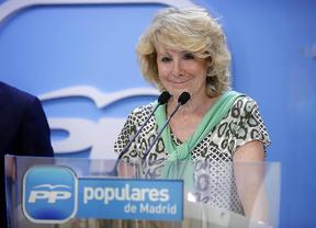 Esperanza Aguirre aviva la crisis interna del PP: