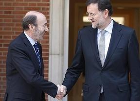 Rajoy verá a Rubalcaba a última hora del viernes, tras entrevistarse con Duran