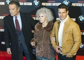 La duquesa de Alba y Tom Cruise, Misión imposible...