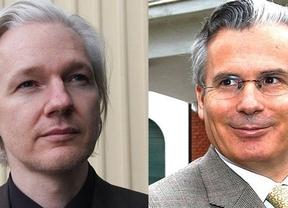 Garzón y Julian Assange defienden este domigno el asilo desde la embajada ecuatoriana en Londres