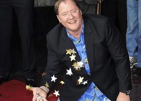 John Lasseter, el genio de Pixar, se hace un hueco en el Paseo de la Fama