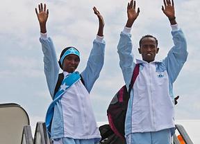 Preparación para Londres 2012 jugándose la vida de verdad: dos héroes forman el equipo olímpico somalí