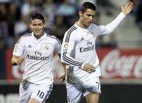 El Real Madrid impone su liderazgo a golpe de goleada ante el Eibar (0-4)