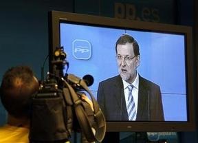 Rajoy, en pantalla, presume de evitar el rescate financiero de España y vende entusiasmo y brotes verdes... para 2014