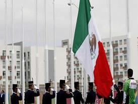 Bandera de México en Villa Panamericana