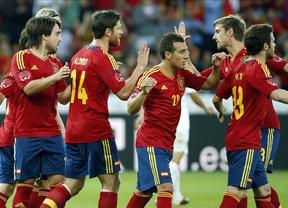 España golea (4-1) a Corea del Sur en su primer partido de la Eurocopa