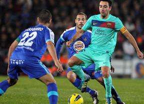 El Barça quiere vengarse del 'Geta', que le derrotó en la primera vuelta, y acostarse a un punto del Madrid