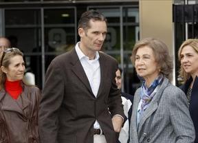La infanta Cristina fue la ideóloga de la visita sorpresa de Urdangarin al Rey