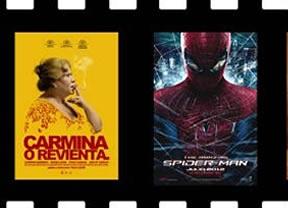 'Carmina o revienta' y 'The Amazing Spider-Man' llegan a los cines dispuestos a cautivar a la audiencia