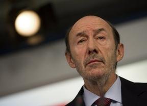 Rubalcaba a Rajoy: 'Tanto sufrimiento para que haya 113.000 parados más en enero'