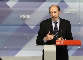 Rubalcaba le pide a Rajoy diálogo porque el PSOE sí consdera que España necesite acuerdos