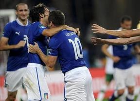Eurocopa. Italia hace los deberes ante una Irlanda entrenada por el italiano Trappatoni y pasa como segunda de grupo