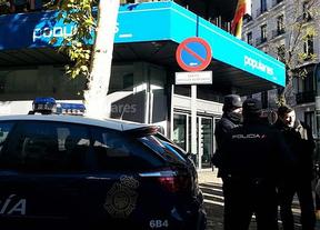 14 horas horas de control judicial en Génova 13: termina la recogida forzosa de documentación que ordenó el juez Ruz