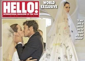 Las fotos de la boda de Angelina Jolie y Brad Pitt al fin trascienden