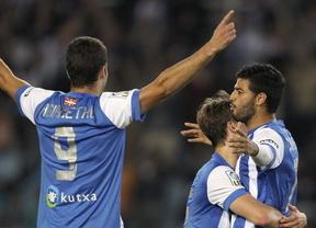 Europa League: la Real Sociedad sufre para lograr una mínima ventaja ante el Krasnodar (1-0)