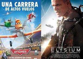 Puente de cine con 'Elysium' y 'Aviones' en cartelera
