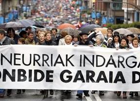 Miles de cuidadanos bilbaínos salen a la calle para protestar contra la doctrina Parot