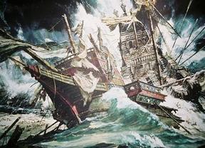 Hallan cañones de la Armada Invencible en la ría de Ferrol