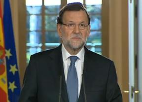 Rajoy ni siquiera cita a Podemos en su eufórico resumen de un 'gran' 2014