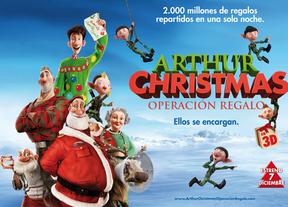 'Arthur Christmas. Operación regalo': El regalo de Navidad de la factoría Aardman