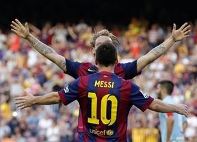Neymar y Messi pasan por encima del Granada (6-0)