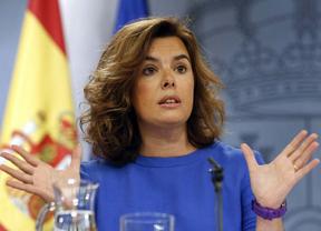 Sáenz de Santamaría advierte al secesionista Mas: 'El Gobierno hará cumplir la ley'