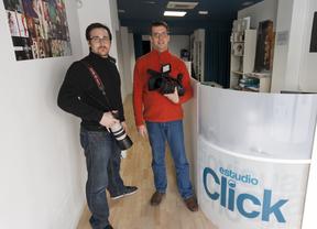Marcelo y Francisco, del trabajo casero, a la vanguardia audiovisual con Estudio Click