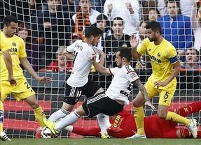 El Valencia encalla ante el submarino y regala el tercer puesto al Atlético (0-0)