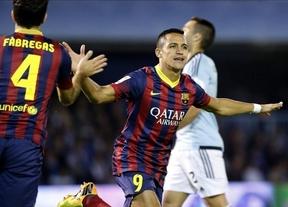 Messi y el Barça recuperan las mejores esencias y Cesc su capacidad goleadora en Vigo (0-3)