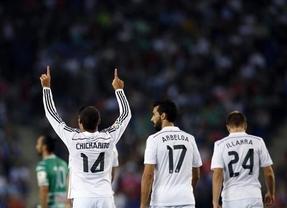 Manita del Madrid para el modesto Cornellá y resurección de Jesé (5-0)