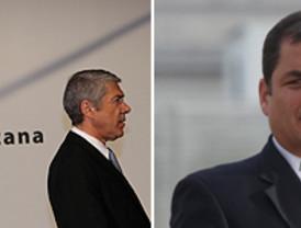 Zapatero reitera a Uribe la colaboración de España en los procesos de paz