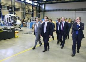 El nuevo presidente del Grupo Eurocopter visita por primera vez la factoría de Albacete