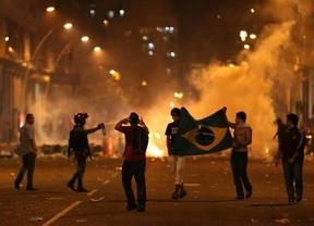Las protestas en Brasil se cobran su primera víctima mortal: atropellado un joven