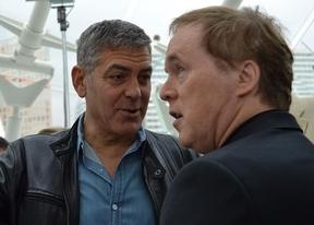 George Clooney presenta en Valencia 'Tomorrowland', la nueva película de Disney