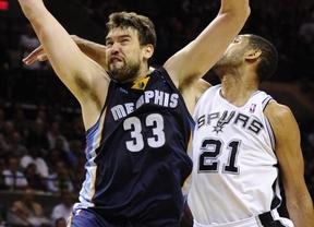 Marc y 'sus' Grizzlies ya tienen rival par soñar con el anillo de la NBA: los Spurs de Duncan