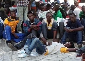 Una oleada de 400 inmigrantes que trataban de alcanzar Ceuta deja, al menos, 8 muertos