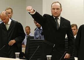 Sólo 21 años de cárcel a Breivik, autor confeso de la matanza de 77 personas en Oslo