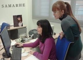 Rosa Saiz y Vicenta Martín, emprendedoras de Samarthe
