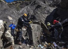 Encuentran la segunda caja negra del avión de Germanwings