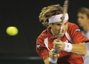 Ferrer se cuela por la vía rápida en cuartos de final del último Masters 1.000 del año