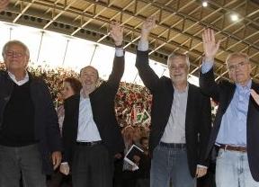 Zapatero evitó presidir la Ejecutiva que confirma a Rubalcaba como 'jefe de la oposición' hasta el 38º Congreso