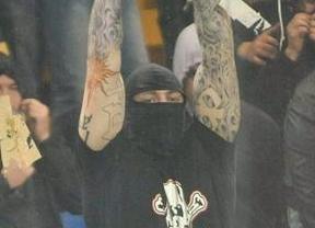Los violentos 'tifosi' se hacen notar en el fútbol italiano