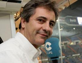 La COPE explica por qué Manolo Lama abandonó en directo la retransmisión