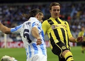 Champions: el 'Euromálaga' busca un milagro alemán en Dortmund para hacer más historia